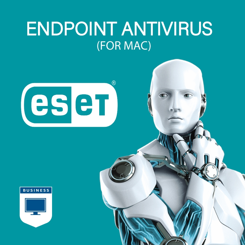 ESET Endpoint Antivirus for Mac - 11 to 25 Seats - 1 Year Mac