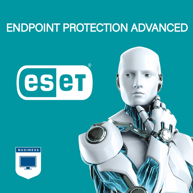 ESET Endpoint Protection Advanced - 1000 to 1999 Seats - 1 Year (Renewal) Universal