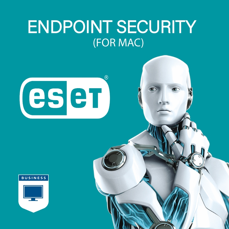 ESET Endpoint Security for Mac - 100 - 249 Seats - 1 Year