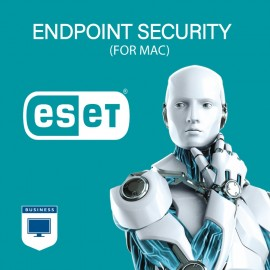 ESET Endpoint Security for Mac - 1000 to 1999 Seats - 3 Years (Renewal)
