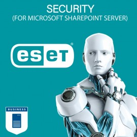 ESET Security for Microsoft SharePoint Server (Per Server) - 1+ Seats - 1 Year (Renewal)