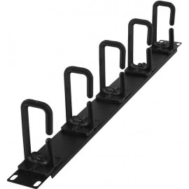 """CyberPower CRA30004 19"""" 1U Flexible Ring Cable Manager"""
