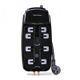 CyberPower CSHT808TC Surge Protector (8 Outlet)