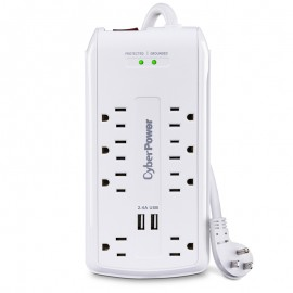 CyberPower CSP806U Surge Protector (8-Outlet)
