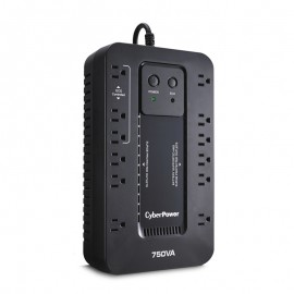 CyberPower EC750GTAA Ecologic ECO Mode UPS System (12 Outlet)