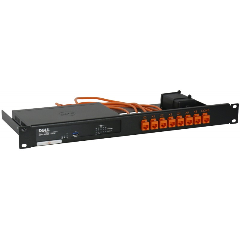 Rack Mount Kit for SonicWall TZ300, TZ400 Rackmount Kits