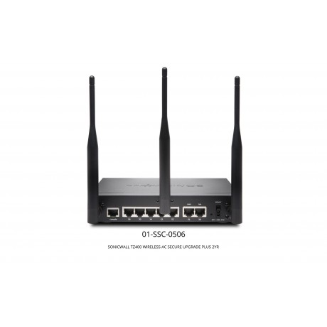 TZ400 Wireless-AC Secure Upgrade Plus with 2 Years CGSS Appliances
