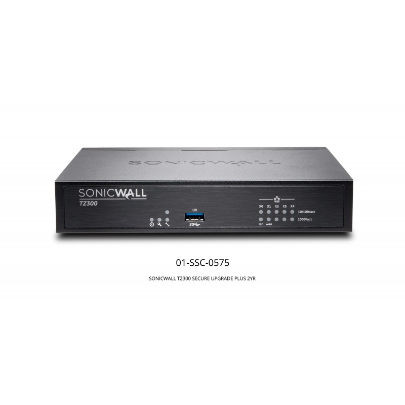 TZ300 Secure Upgrade Plus with 2 Years CGSS
