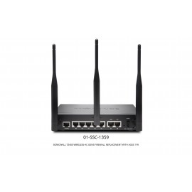SonicWall TZ400 Wireless-AC GEN5 Firewall Replacement With AGSS (1 Year)