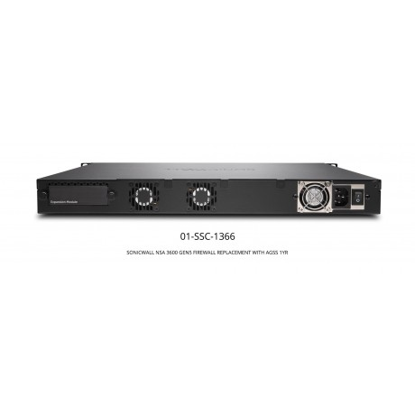NSA 3600 GEN5 Replacement Bundle with 1 Year AGSS Appliances