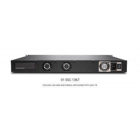 NSA 4600 GEN5 Replacement Bundle with 1 Year AGSS