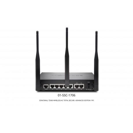 TZ400 Wireless-AC TotalSecure Advanced Edition Appliance Bundle Appliances