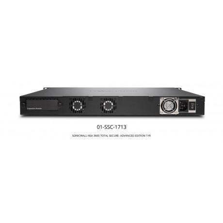 NSA 3600 TotalSecure Advanced Edition Appliance Bundle Appliances
