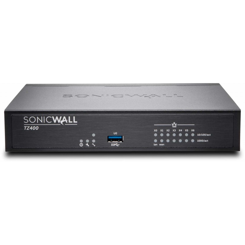 SonicWall TZ400 Secure Upgrade Plus Advanced Edition (2 Years)
