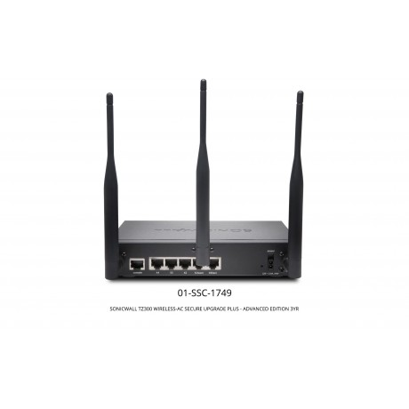 TZ300 Wireless-AC Secure Upgrade Plus Advanced Edition with 3 Years AGSS Appliances