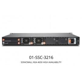 SonicWall NSA 4650 High Availability