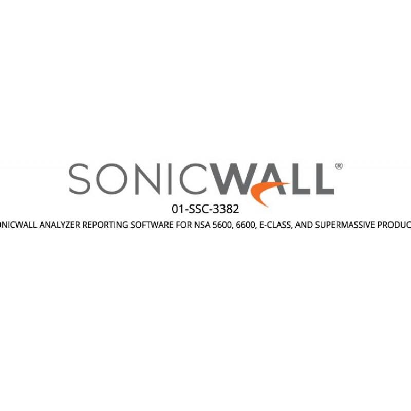 Analyzer Reporting Software for SuperMassive/E-Class/NSA 5650/5600/6600