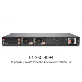 SonicWall NSA 4650 Totalsecure Advanced Edition (1 Year)