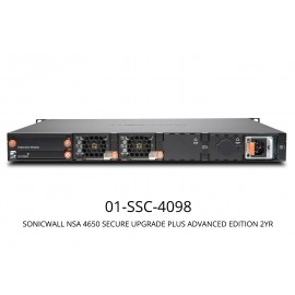 SonicWall NSA 4650 Secure Upgrade Plus Advanced Edition (2 Years)