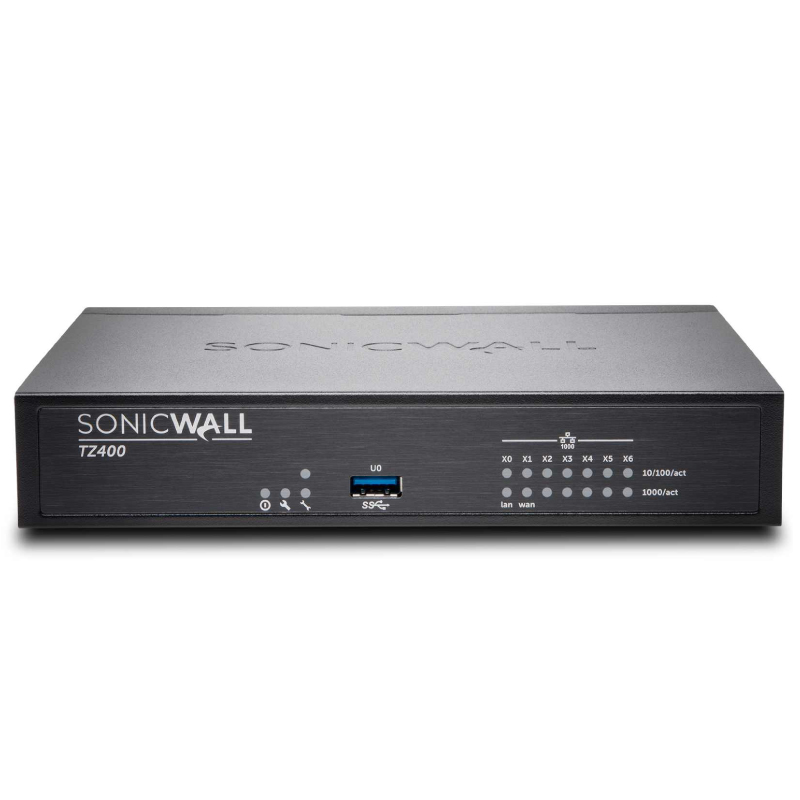Sonicwall TZ400 Totalsecure Advanced Capture Security Center Edition 1Yr Total Secure Advanced