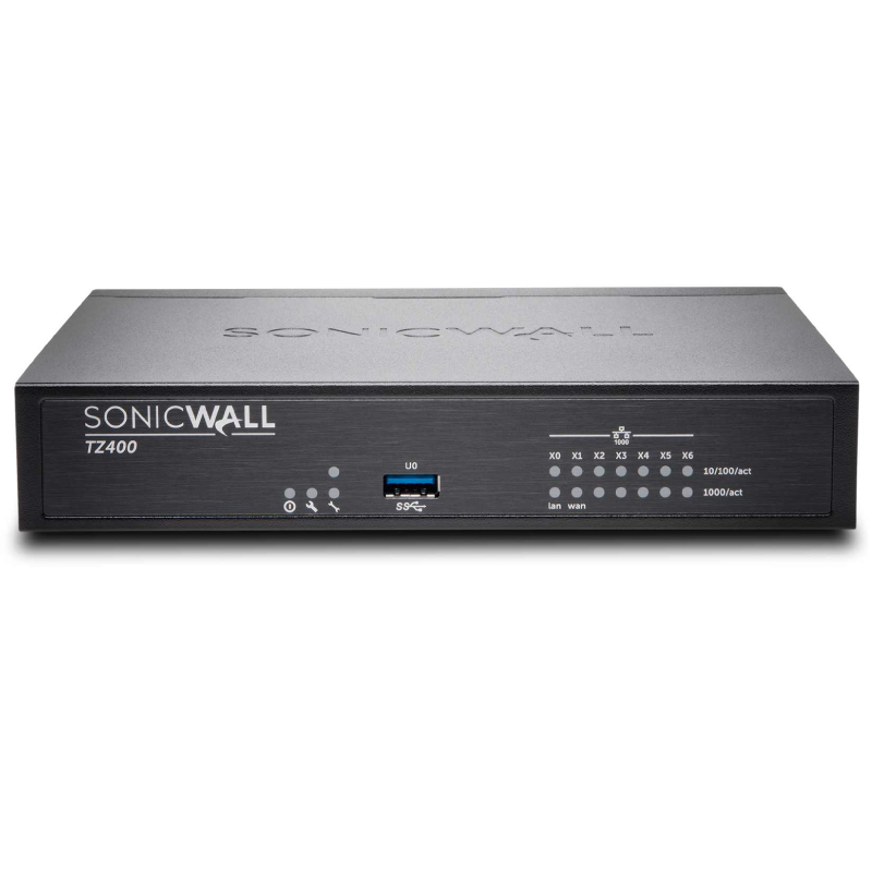 Sonicwall TZ400 Secure Upgrade Plus Advanced Capture Security Center Edition 3Yr