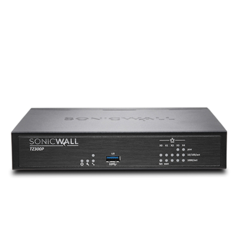 SonicWall TZ300 Poe Total Secure- Advanced Edition (1 Year) Appliances
