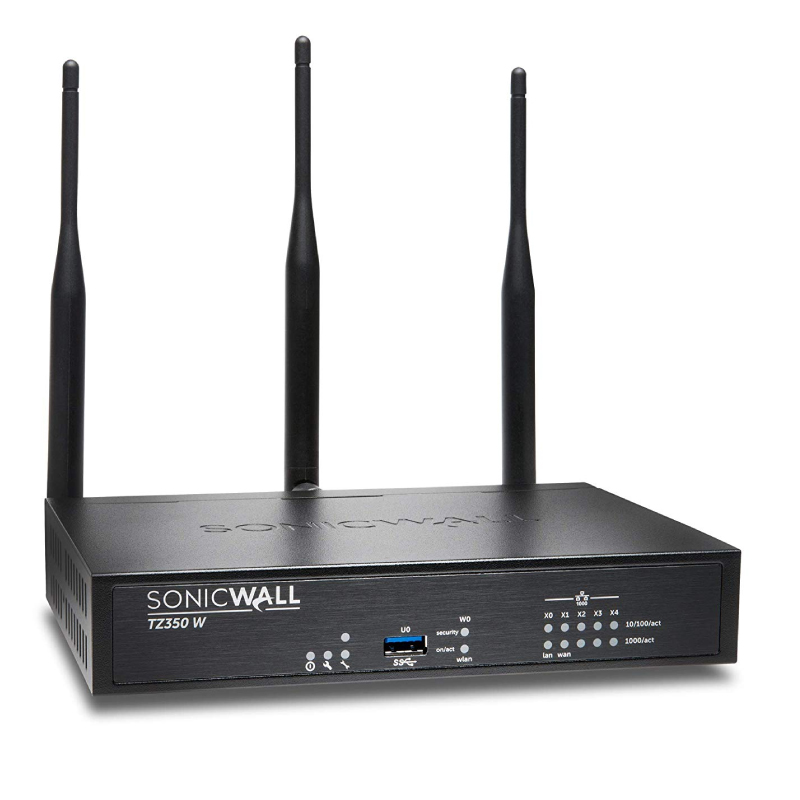 Sonicwall TZ400 Wireless-Ac Totalsecure Advanced - Cloud Management, 10Seat Endpoint Protection 2Yr Wireless AC