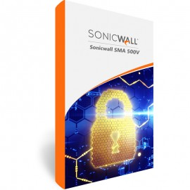 SonicWall SMA 500V Secure Upgrade Plus With 24X7 Support Up To 100 Users (1 Year)