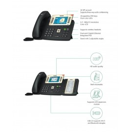 Yealink SIP-T29G Color Gigabit VoIP Phone