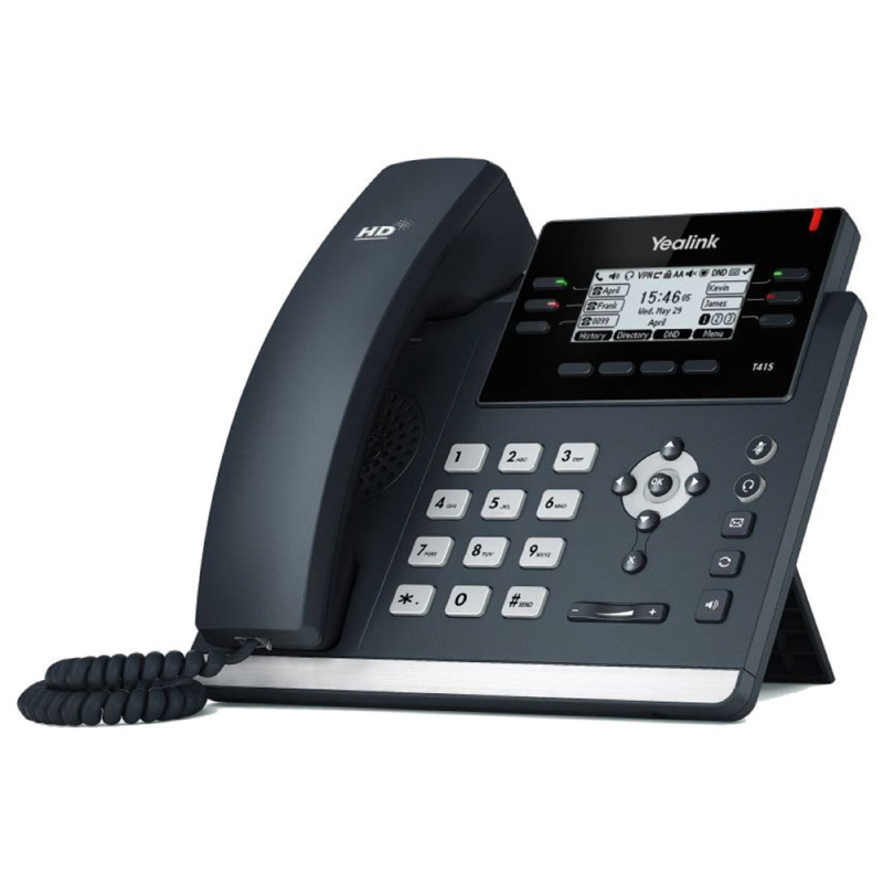 Yealink SIP-T41S-SFB Skype For Business VoIP Phone Yealink