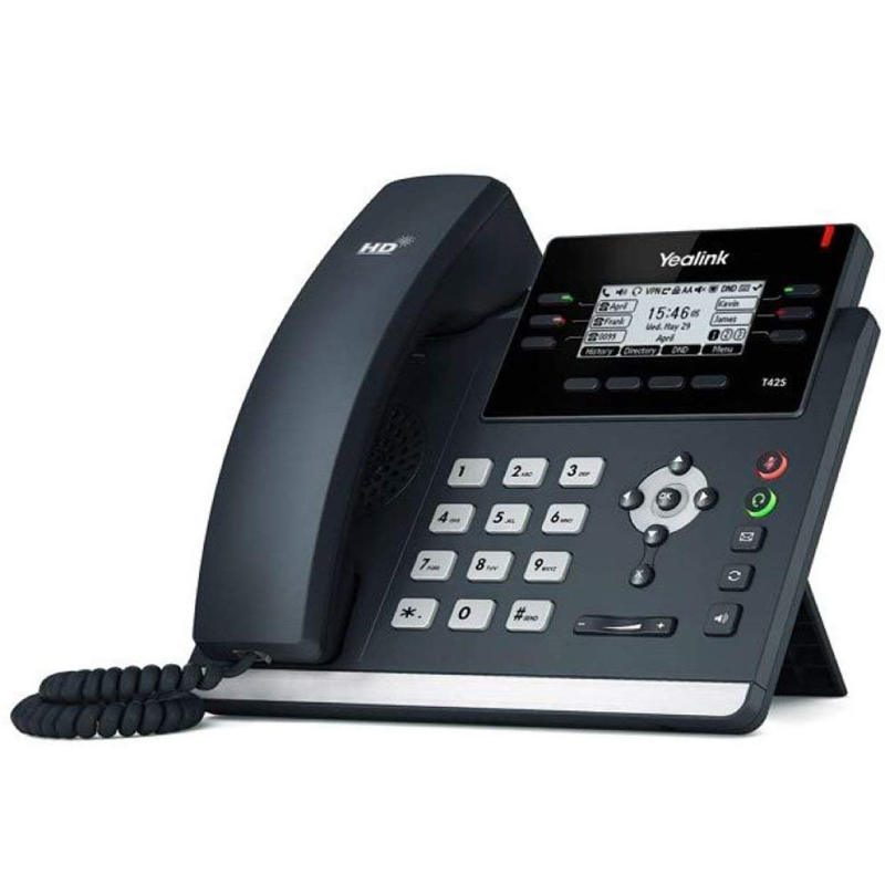Yealink SIP-T42S-SFB Skype For Business Gigabit VoIP Phone Yealink