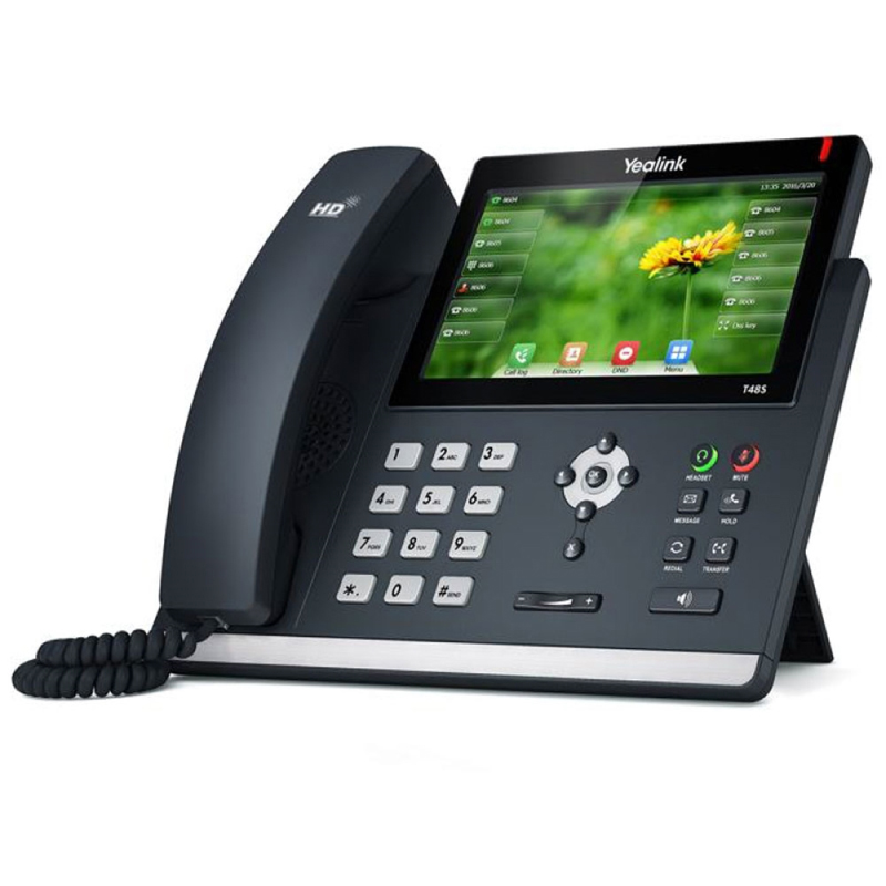 Yealink SIP-T48S-SFB Skype For Business Gigabit VoIP Phone Yealink