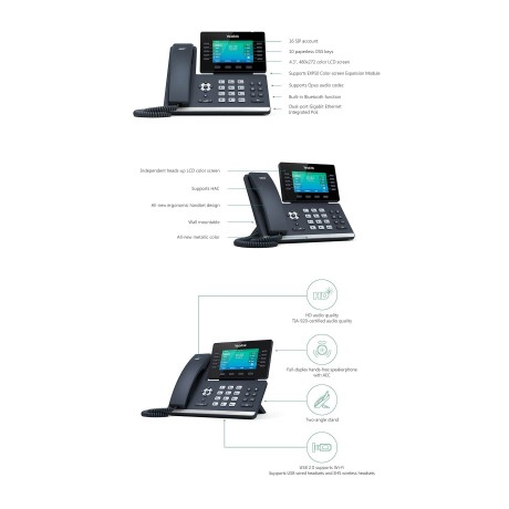 Yealink SIP-T54S Gigabit Media VoIP Phone